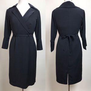 Delta classic uniform wrap dress flight attendant
